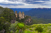 Three Sisters (Jesher64) Tags: threesisters nature katoomba park bluemountains sydney sidney newsouthwales cloudy clouds