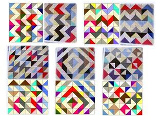 Two colours granny square