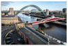 View from the High Level Bridge, Newcastle (Graham Dobson Photography) Tags: bridge highlevel highlevelbridge newcastle padlocks swingbridge