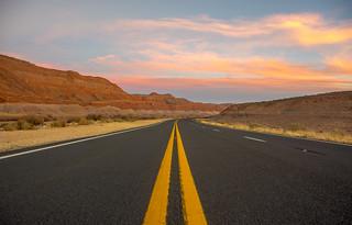 US 89 from Tuba City to Page AZ [Tuba City AZ USA - 2014]