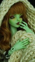 mon petit serpent vert^^ (Les dolls de Lovelyshiva) Tags: bjd balljointeddoll dollchateau greenskin doll