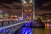 Tower Bridge (samantha m14) Tags: london towerbridge water riverthames longexposure nightshots reflections londonskyline landscapes landmark