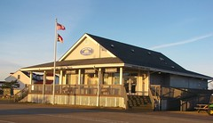 Ocracoke Island Ferry terminal (Gerry Dincher) Tags: ocracoke ocracokeisland capehatterasnationalseashore hydecounty northcarolina northcarolinahighway12 smalltownnorthcarolina smalltown irvingarrishhighway silverlake estuary island barrierisland marine
