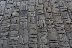 StriatedCobbles (Tony Tooth) Tags: nikon d7100 tamron 2470mm cobbles cobbled cobbledstreet street road cobblestones matrix pattern shoobridgestreet leek staffs staffordshire