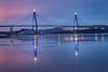 Uddevalla Bridge (englishgolfer) Tags: uddevalla bridge morning reflection sweden sverige bohuslän west coast västkusten nikon d7500 ice sea water