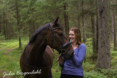 #sister #horse #landscape #countryside (julia_bergendahl1) Tags: sister horse landscape countryside