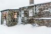 DSC_0051. - Sitting tight (SWJuk) Tags: swjuk uk unitedkingdom gb britain england yorkshire yorkshiredales dales wensleydale northyorkshire farm gaudyhousefarm stonebuilt weather snow snowfall blizzard 2018 feb2018 winter holidays nikon d7100 nikond7100 rawnef lightroomclassiccc building farmhouse 18300mm