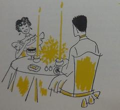 Date (neshachan) Tags: ephemera date illustration cookbook vintage 1950s
