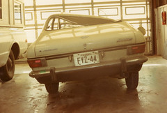 1969 Opel Kadett Rallye (twm1340) Tags: 1969 opel kadett rallye opelb sorryass pos car import crap dodo wreck burkburnett tx body shop