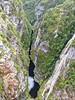 Gordon Dam,Tasmania, the deep cleft in between the rocky mountain down stream (PsJeremy - back and catching up...) Tags: hydro australia tasmania gordondam gorge ravine explore