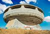Buzludzha - soviet building in Bulgaria (filchist) Tags: buzludzha architecture sovietarchitecture summer mosaic бузлуджа болгария архитектура советскоездание дом