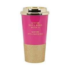 Glitter Travel Coffee Cup (mywowstuff) Tags: gifts gadgets cool family friends funny shopping men women kids home
