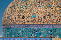 Sheikh Lotfollah Mosque, Isfahan, Iran (Feng Wei Photography) Tags: islamicculture persianculture traveldestinations isfahan art persian landmark colorimage dome islamic mosque famousplace builtstructure iran iranianculture travel decorative horizontal islam architecture unesco sheikhlotfollahmosque tourism unescoworldheritagesite middleeast irn