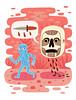 Nightmare (Jack Teagle) Tags: tshirtdesign nightmare bold digital illustration ghosts