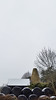 20170211_124040 [ps] - Partly Picturesque (Anyhoo) Tags: anyhoo photobyanyhoo uk england farm oasthouse tower bales haybales strawbales bundled wrapped black plastic snow winter rural cement masonry concrete sussex eastsussex or possibly kent somewhere round there