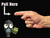 Pull Here....... (Mr_Camera71) Tags: finger hand gas mask funny humor composite compositing aedimages samsung photoshop