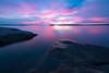 A Killbear Sunset (B.E.K. Photography) Tags: killbear provincial park water sky clouds sunset rocks longexposure georgian bay outdoor landscape pink blue nikond850 nikon1735f28