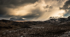 Assynt (GenerationX) Tags: assynt barr canisp canon6d coigach culmòr drumrunie gleannnagaoithe glencanisp inverpolly meallnamfiadh neil quinag scotland scottish stacpollaidh suilven clouds grass hills landscape mountains panorama rocks sky snow water winter unitedkingdom gb