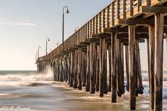 Cayucos Pier (Ronda Hamm) Tags: california cayucos ocean waves boardwalk pier 10stopnd centralcoast longexposure 110 canon 1855mm 7dii pacificocean