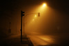 (atomareaufruestung) Tags: berlin countryroad nebel fog 2018 january nodoby streetphotography canoneos7dmarkii canon7dmarkii 7dmarkii eos7dmarkii ef24105mmf4lisusm 24105 spooky ghost gruselig horror gatow streetlamp yellow street crossing trafficlight transportation leere emptiness