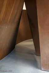 Leaning Walls and Graceful Curves (Greatest Paka Photography) Tags: sculpture sfmoma museumofmodernart richardserra museum art artist sequence metal steel ellipse wall massive leaning path light shadow sanfrancisco
