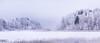 Winter Panorama. (laurilehtophotography) Tags: 2018 jyväskylä kortesuo talvi suomi finland winter frozen snow landscape nature lake forest trees nikon d610 nikkor 200500mm panorama longexposure evening amazing europe explore world laurilehtophotography instagram outdoor