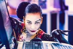 (Laszlo Horvath.) Tags: tamron 85mm f18 di vc lens face colors woman portraiture portrait portré tamron85mmf18vc nikond7100 bodypainting