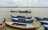 Tourist boats on Ganges River in India (phuong.sg@gmail.com) Tags: asia asian attractions belief believer benares boat brown destinations dirty ethnic ethnicity exotic faith floating ganga ganges hindu hinduism holy india indian mud people pigeon pilgrimage pilgrims poor poverty pradesh religion religious river sacred spirituality tour tourism tourist travel unhealthy uttar vacations varanasi water
