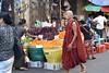 _DSC0918 (lnewman333) Tags: yangon rangoon myanmar burma southeastasia asia market people produce monk buddhistmonk grapes