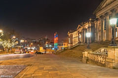 William Brown Street looking toward the tunnel (Bob Edwards Photography - Picture Liverpool) Tags: stgeorgeshall plateau liverpool bobedwardsphotography merseyside neoclassical building architecture limestreet williambrown culturalquarter library museum artgallery walker liverpoolmuseum