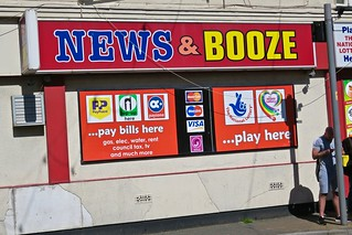 News & Booze, Blackpool, UK