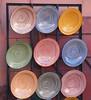 Teller (MKP-0508) Tags: marrakesch marokko morocco maroc teller souk assiettes plates artisanal bunt bariolé motley kunterbunt keramik ceramique