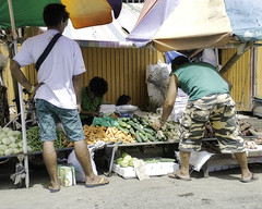 Purchasing (Beegee49) Tags: street market stall vendor selling buying customer vegetables bacolod city philippines