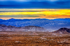 Joshua Tree National Park (aaron_j_o) Tags: joshuatreenationalpark hdr sky nature clouds colour colors contrast hill inspiration mountain yellow rocks road purple plants peace outdoors orange desert storm