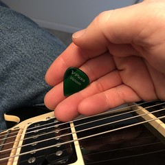 Day 007 (GearBoxTy) Tags: 365days appleiphone8 righthand vpicksvenom guitarpick humbucker gibsonlespaul