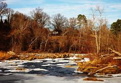 Above it All (photo_secessionist) Tags: winter ice coldriver falls rappahannockriver fallline fredericksburg virginia landscape colour digital pentax k3 pentaxdaf35561855mmallens