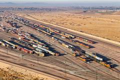 BNSF 1856 East: Yard Job at Barstow, California (Z-Trains) Tags: trains train railfan railfanning barstow barstowrailfan cajon needles bnsf up unionpacific