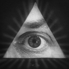 The Lost Symbol (Inky-NL) Tags: monochrome bw blackandwhite macromondays myfavoritenovelfiction book novel symbol almightyeye eyeofprovidence allseeingeyeofgod eye triangle pyramid rays read symbols danbrown thelostsymbol freemasonry icon ingridsiemons©2018 hmm macro oog pages pageturner