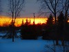 winter sunset DSCN2334 (dodochampo) Tags: winter snow sunset orange fiery outdoor trees colour
