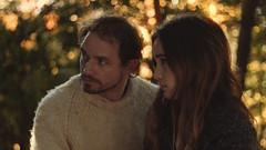 Maybe (J.J.Evan) Tags: boy girl love forest bokeh sunset autumn leaves memories movie couple glow light daylight melancholy nostalgic fading fade