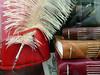 Italy: Amalfi: 2017 (graeme37) Tags: italy amalfi books bookbinding stitching stitches leather plume feather pen