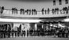 Level of audiences (A. Yousuf Kurniawan) Tags: mall people audience blackandwhite cameraphone cameraphonestreet phonestreet monochrome streetphotography urbanlife level minimalism minimalist hdr