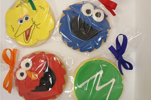 Sesame Street Characters Cookies