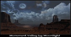 Monument Valley by Moonlight (janetfo747 ~ Dreaming of Africa) Tags: midwest utah arizona rock cliffs weather severe indian territory nationalpark usa