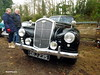 Wolseley 6/80 (BenGPhotos) Tags: dej235 2018 brooklands museum new years day classic gathering black car 1954 wolseley 680