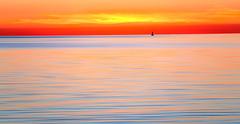 Cape Cod Sunset & Buoy (Chris Seufert) Tags: capecod chatham hardingsbeach coastal colors