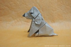 36/365 Golden Retriever by Pei Haozheng (origami_artist_diego) Tags: origami origamichallenge 365days 365origamichallenge dog goldenretriever