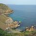 Rugged cliffs of Polbarrow