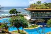 Resort Landscaped pool (A. Wee) Tags: bali indonesia 巴厘岛 印尼 hilton resort hotel 希尔顿 酒店 swimming pool 游泳池