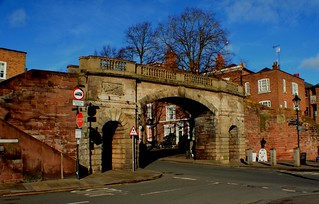 Chester Walls & Bridge Jan 2018